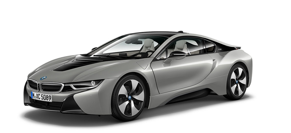 Image of a BMW model i8 Coupe with Carpo Interior