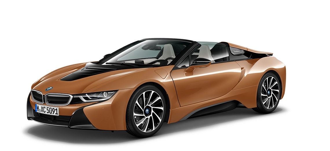 Image of the BMW i8 Roadster